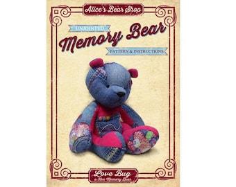 Memory Bear Pattern Etsy