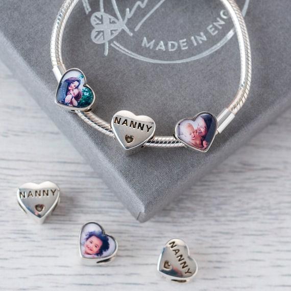 Bracelet de charme personnalisé Cadeau de nounou compatible | Etsy
