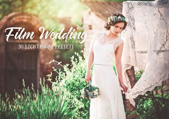 30 Film Wedding Photography Lightroom Presets Volume 1