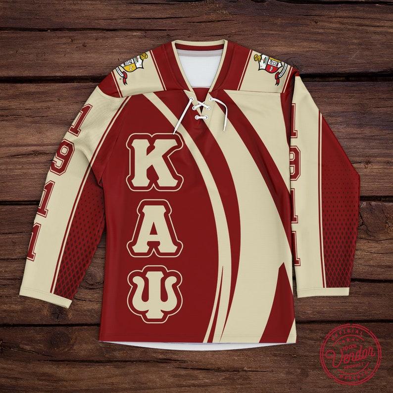 Official Vendor Kappa Alpha Psi Curved Baseball Jersey Hockey