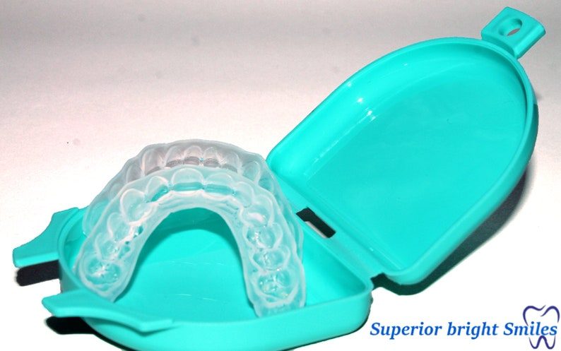Custom Dental Orthodontic Essix Retainer+Case