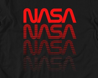 NASA Shirt - NASA Lift Off - Men's & Women's T-shirt - NASA Unisex Graphic Tee - Astronaut Shirt - Space Shirt - Nerd T-shirt - Geeky Shirt