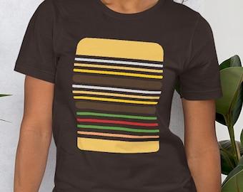 In-n-Out Shirt - Double Double - Men's & Women's T-shirt - Burger Bar Code - Animal Style Shirt - Cheeseburger T-shirt - Fast Food Shirt