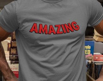 Spider-Man Shirt - Amazing - Men's & Women's T-Shirt - Spiderman Spider-Verse Shirt - Marvel Shirt - Amazing Spider-Man T-Shirt - Spider Man