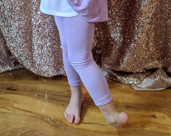 Girls & Tween Leggings - solid color leggings