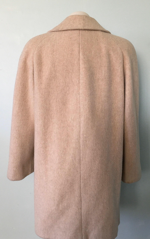 Vintage Coat 1980s Oatmeal Colored Coat Alorna Coat | Etsy
