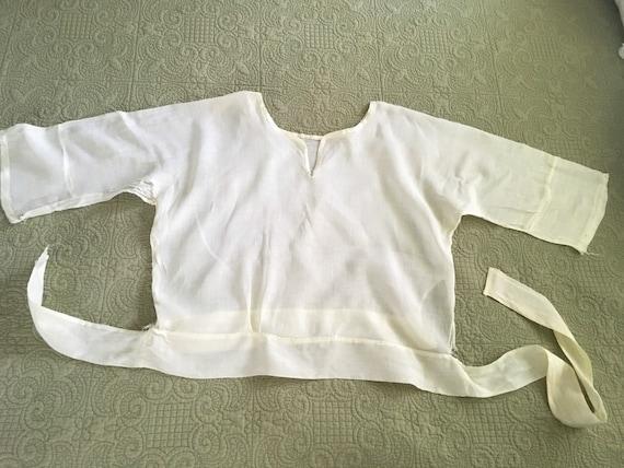 Antique Edwardian Victorian Shirtwaist Blouse - image 4