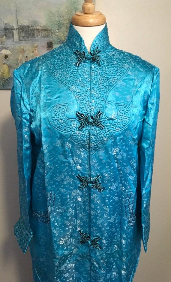 Vintage Cheongsam Dress, Vintage Chinese Kimono St