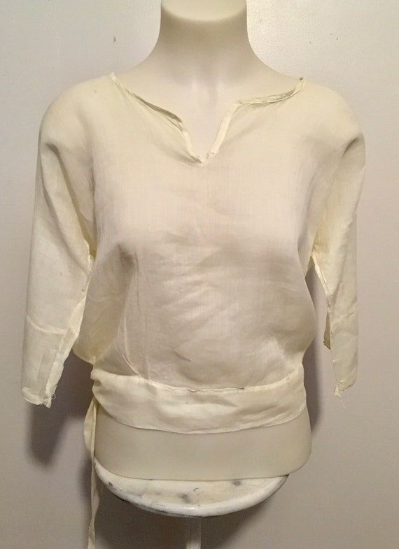 Antique Edwardian Victorian Shirtwaist Blouse - image 1