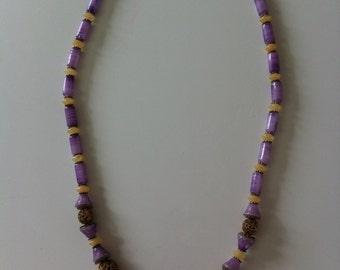 Necklace - semi-precious stones