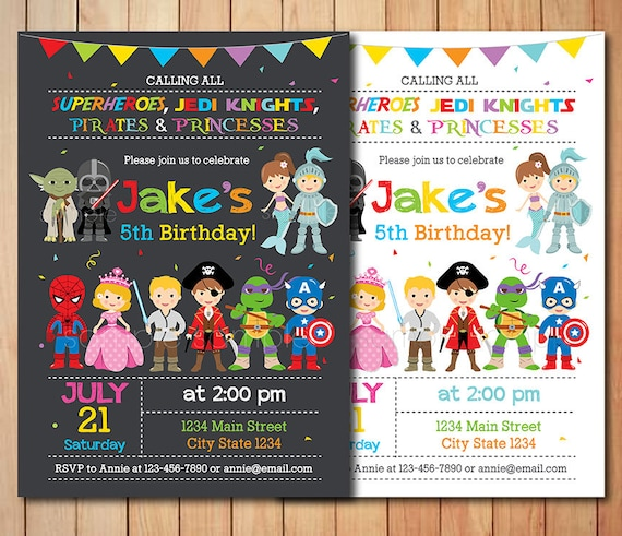 kids costume birthday party