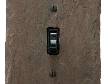 Earthy Plum Purple Light Switch Cover