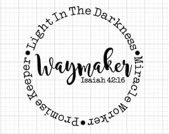 Waymaker Svg Etsy