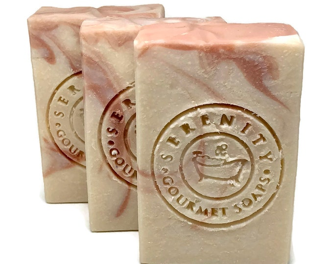 V Cleanse Feminine Handmade Soap Bar with Apple Cider Vinegar & Rose Clay