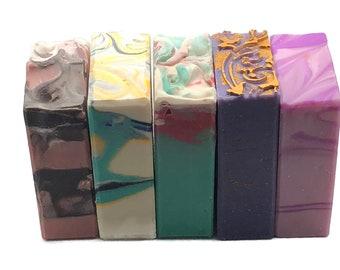 Royal Bundle 5 Vegan Artisan Bath Soap Bars