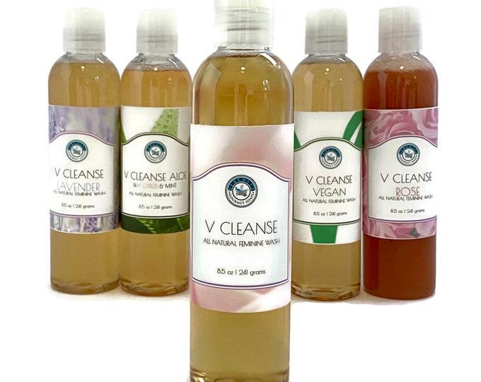 V Cleanse All Natural Liquid Feminine Body Wash