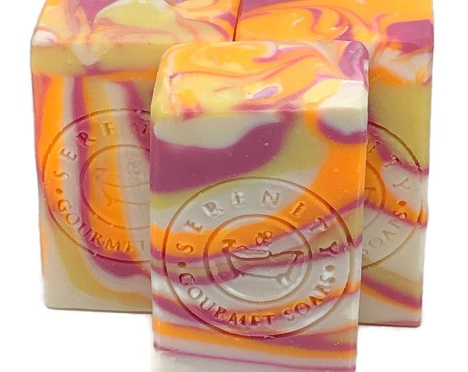 Hello Sunshine Vegan Handmade Bath Soap Bar palm free soap