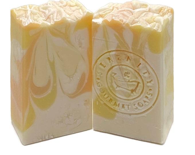 Lemon Lush Vegan Handmade Bath Soap Bar