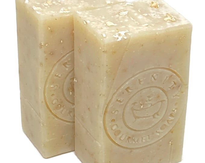 Simply Oatmeal Vegan Unscented Handmade Soap Bar