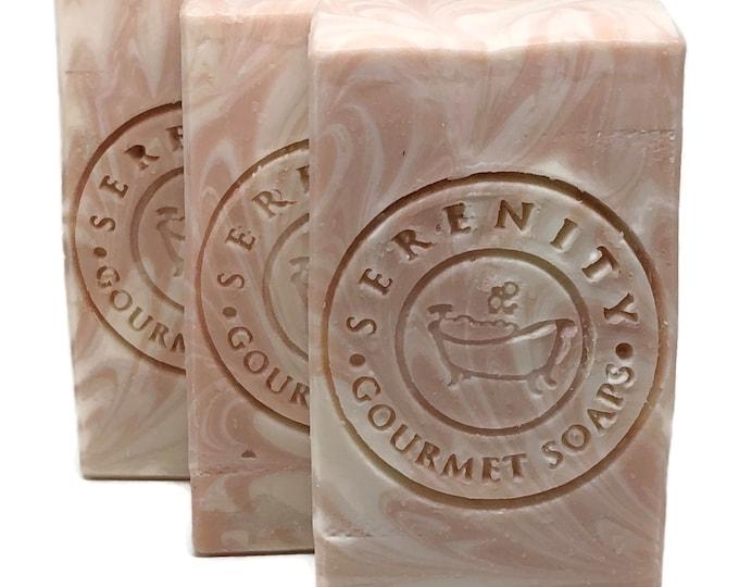V Cleanse Feminine Handmade Soap Bar with Apple Cider Vinegar & Rose Clay