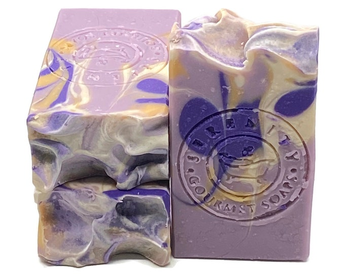 Lavender & Chamomile Soap Vegan Handmade Soap Bar