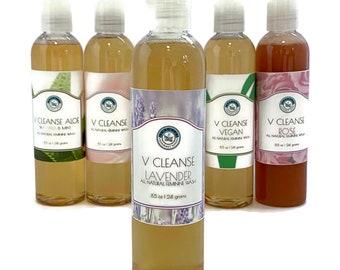 V Cleanse Lavender Liquid All Natural Feminine Body Wash