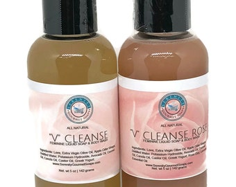 V Cleanse All Natural Feminine Body Wash Duo