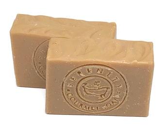 Pine Tar Vegan All Natural Handmade Bath Soap Bar
