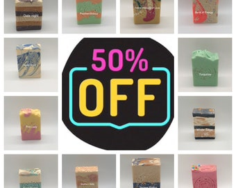 Soap Clearance Sale 50 percent off