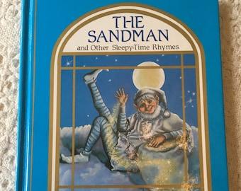 The Sandman and Other Sleepytime Rhymes by Judy Mastrangelo, Bedtime Poems, The Sandman Poem, Bedtime Books, Vintage Childrens