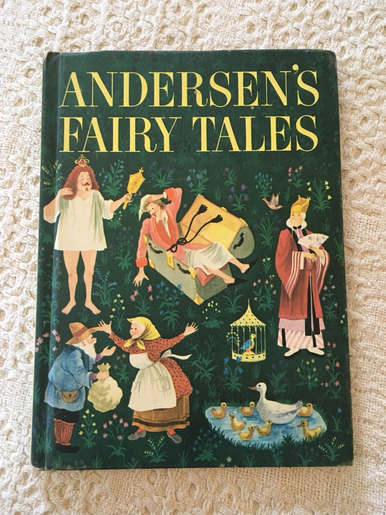 Andersens Fairy Tales, Fairy Tales for Kids, Childrens Fairy Tales, Fairy  Tale Stories, Random House Childrens Books, Vintage Childrens