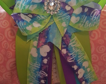 Long Tail BE YOURSELF Hair Bow