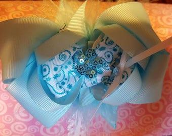 Blue Boutique Hair Bow