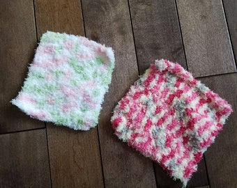 Baby Facecloths / washcloths (set of 6)