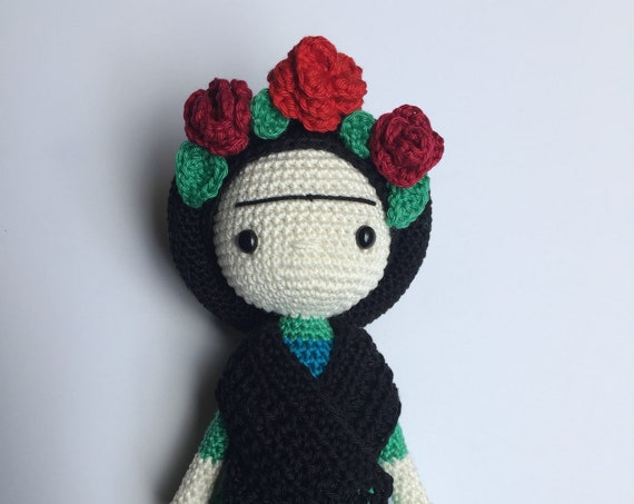 Crochet Frida Doll