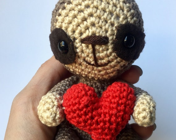 Sloth with heart
