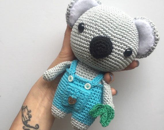 Crocheted Handmade Koala Toy