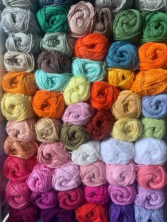 10 skein-Schachenmayr Catania bundle-choose any color you want-