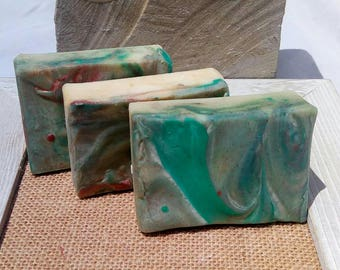 Island Breeze Soap - homemade soap - organic soap - artisan soap - soap bar - soap - shea butter - gifts for her - dry skin - gift for mom