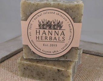 Herbal Garden Soap - cold processed soap - handmade soap - all natural - essential oils - soap -soaps - bar soap -soap bar - body soap