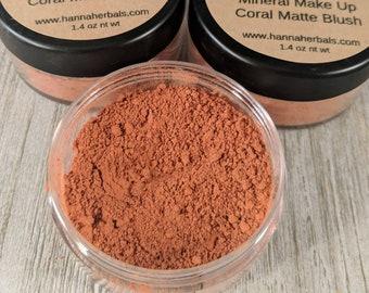 Coral Matte Blush