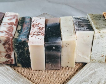 Assorted Soap Box - vegan - all natural - gifts for her - gifts for mom - moisturizing - soap - soaps - handmade soaps - bar soaps