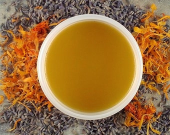 Calendula Lavender Healing Salve - healing salve - calendula - eczema balm - herbal salve - calendula salve - natural skincare - herbal