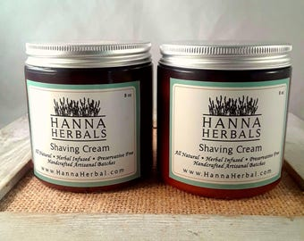 Shaving Cream - shaving butter - dry skin relief - shaving aide - lemon shaving cream - gifts for her - gifts for him - shaving