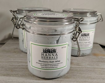Blueberry Bath Whip - liquid soap - body wash - bubble bath whip - bath whip - bath and body works - soap - whipped soap - gifts for her