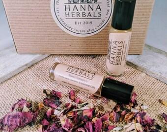 Jasmine Rose Roll On Perfume - vegan Perfume - organic perfume - essential oils - flower perfume - jasmine perfume - rose perfume