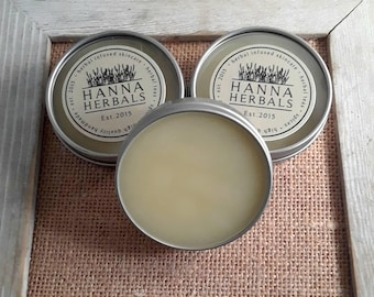 Hand and Foot Balm - Cracked skin relief - gifts for her - gifts for him -  Chapped skin relief - shea butter balm - monthly box