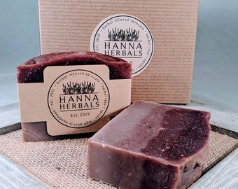 Relaxing Herbal Soap -lavender - essential oils - soap - soaps - bar soap - all natural - moisturizing - gifts for her - gifts for mom