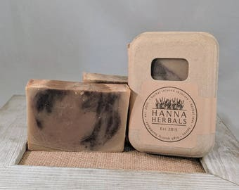Vanilla Lavender Soap - 4 ounce bar with box