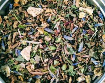 Dream Herbal Tea - herbal tea - loose leaf tea -  Christmas gift - get well gift - stress relief - organic tea - teacher gift - eco friendly